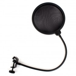 Flexible Microphone Studio Wind Screen Pop Filter Mask Shied 360 degree Rotation
