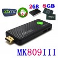 100% original mk809 iii Quad-Core-rk3188 Fernsehkasten Android 4.4.2 Smart TV-Stick 2 GB RAM 8 GB ROM bluetooth wifi xbmc hd mk809iii