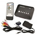 Multi-function Real Media Player Full 720P Audio Video USB YPbPr AV SDHC SD/MMC MKV RM RMVB
