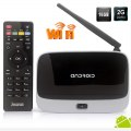Android 4.4 TV Box 2+16G CS918 Q7 RK3188 WiFi XBMC Kodi Quad Core Google Smart Box 1080P TV Media Player