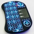 Fly Air Mouse 2.4G Mini i8B Wireless Keyboard With Backlight Mouse Remote Controlers Touchpad
