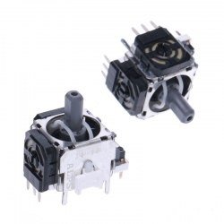2X 3D Controller Joystick Axis Analog Sensor Module Replacement for PS4 New