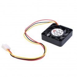1pcs DC 12V 3PIN 40mm miNI Transparent DC Exhaust Cooling Fan 40x40x10mm 4010s