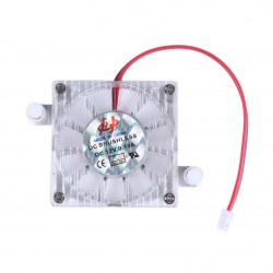 1pc 5.5 hole card cooling Fan for Notebook Laptop Computer Cooling Fan silver