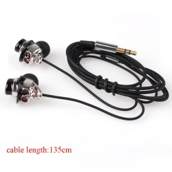 New Fashion 3.5mm In Ear Headset Headphone Super Bass Earphone Good Quality