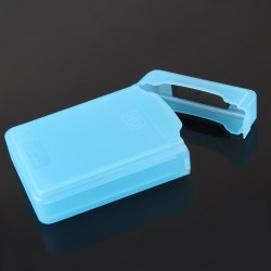 Newest 3.5 Inch Hard Disk Drive HDD Plastic Protection Storage Case Box Blue