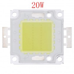 1pc 20W Cool White High Power LED Flood light Lamp Bead SMD Chip DC 9-12V