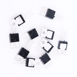 10PCS CNY70 IC Reflective Optical Sensor with Transistor Output NEW Black
