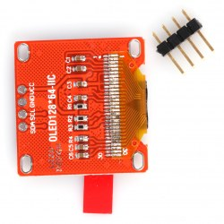0.96 inch White OLED LCD Display Mould 1PC 2.8*2.7cm Driver IC SSD1306 Mould