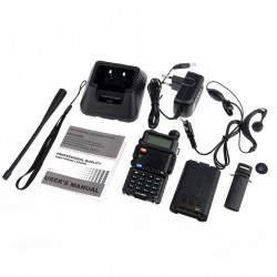 Baofeng UV-5R Dual-Band Two-way Radio VHF/UHF 136-174/400-520MHz FM Ham