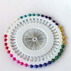 Dressmaking Pins Round Head Pin Wheel - Sewing / Tailor / Scarf 480pcs