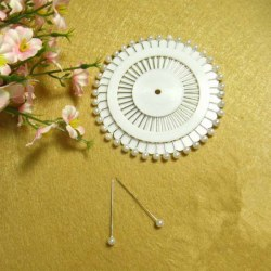Dressmaking Pins Round Head Pin Wheel - Sewing / Tailor / Hijab Wrap 480pcs