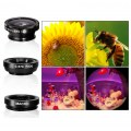 Magnetic Phone Lens Camera Lens0.67x Wide Angle Triple Adsorption Cell Phone Cam