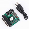 Parallel Port 4-Digit PC Analyzer Motherboard Tester USB Post Test Card Powerful