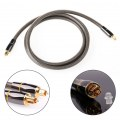1.5 m Nylon Braided Optical Audio Cable Fiber Audio Cable for PC DVD CD MD