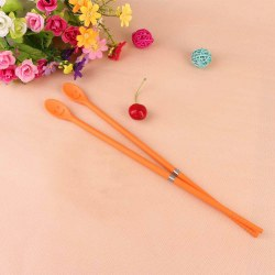New Safe Silicone Fried Chopsticks Sticks Kitchen Cooking Tools Stainless Steel