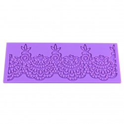 New Flower Lace Silicone Fondant Mold Sugar Craft Wedding Cake Decorating Mould