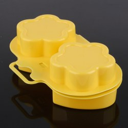 New Love Flower Shape Microwave Steamed Egg Mold Omelette Box DIY Cooking Tools