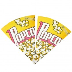 100pcs /pack Popcorn Paper Bag Popcorn Bag Food Safe Party Favor Paper Bags Best