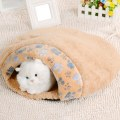 Cat Dog Puppy Sleeping Bag Warm Snuggle Sack Pet Bed House Cave Pouch Mat L