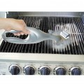Best Barbecue Grill Cleaner Wire Brush ABS BBQ Handle Cleaning Brush Tools Gray