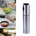 1Pc Stainless Steel Pump Spray Bottle Oil Sprayer Pot Cooking Tool Spray Bottle