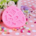 New Baby Toy Silicone Clay Mold Fondant Cake Chocolate Candy Decor Tools Pink