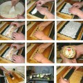 DIY Practical Sushi Rolling Roller Bamboo Material Mat Maker And Rice Paddle Set