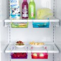 Slide Fridge Freezer Refrigerator Shelf Storage Rack Holder Space Saver Kitchen