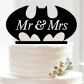 Cupcake Inserted Card Letters Bats Cake Topper Decorating Tools Baking Supplies