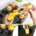 Silicone Honey Cooking Baking Oil Brush Pancake Oil Brush BBQ Oil Brush Bottle