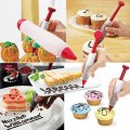 Silicone Chocolate Sauce Squeeze Writing Pen Decorating Kitchen Gadgets Useful