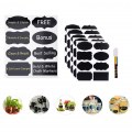 Chalkboard Labels 40pcs Premiumlabeling  Highlighter  Reusable Chalkboard Labels