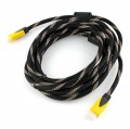 16.4 Ft gold HDMI Male to Male cable for flat TV HDTV DVD