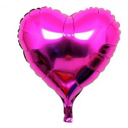 18 Inch Party Decoration Helium Inflable Heart Shaped Wedding Aluminum Foil Balloon