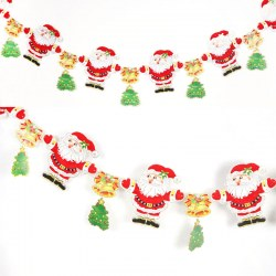 1x Christmas Decoration Santa Claus Hanging Ornements Decoration Atmosphere