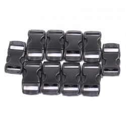 10 In 1 Plastic Strap Webbing Side Release Fastenings Plastic Buckles Good