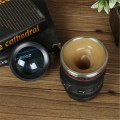 ​Canon SIX Generation Stainless Steel Coffee Creative Camera Emulation Lens cup