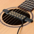 New 3m Clip-on Acoustic Guitar Pickup Wire Amplifier Speaker Sound 12 Hole