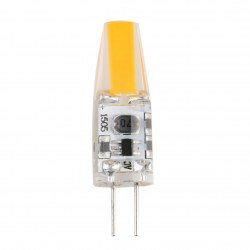 1.5W G4 24 SMD AC/DC 12V Beam Angle Silicon Warn White Led Light Bulb