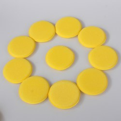 12pcs Waxing Polish Wax Foam Sponge Applicator Pads For Clean Car Vehicle Glass