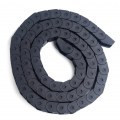 Black 1M Cable Carrier Is Easy to Install Cable Chain Wear Practical Cable