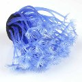 New Aquarium Plastic Coral Soft Flower Fish Tank Ornament Plan t Decoration Blue