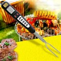 Instant Read Digital BBQ Meat Thermometer Fork Electronic Barbecue Kitchen Tool