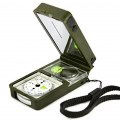 10 in 1 Multifunction Travel Camping Hiking Gear Survival Tool Kits Compass LED