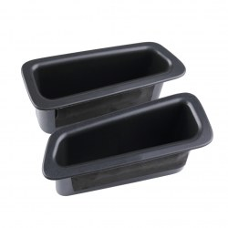 1 pair Black Car Front Door Storage Box Secondary Storage For Volvo XC60
