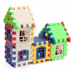 24pcs Baby Kid Children House Building Blocks Construction Developmental Toy Set