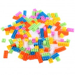 140 pcs  Children Kid Puzzle Educational Building Blocks Bricks Plastic Toy