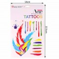 Fashion Body Art Stickers Removable Waterproof Temporary Tattoo Sticker