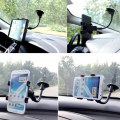 Double Chuck Hose Car Holder Black ABS Material 360 Degree Car Holder